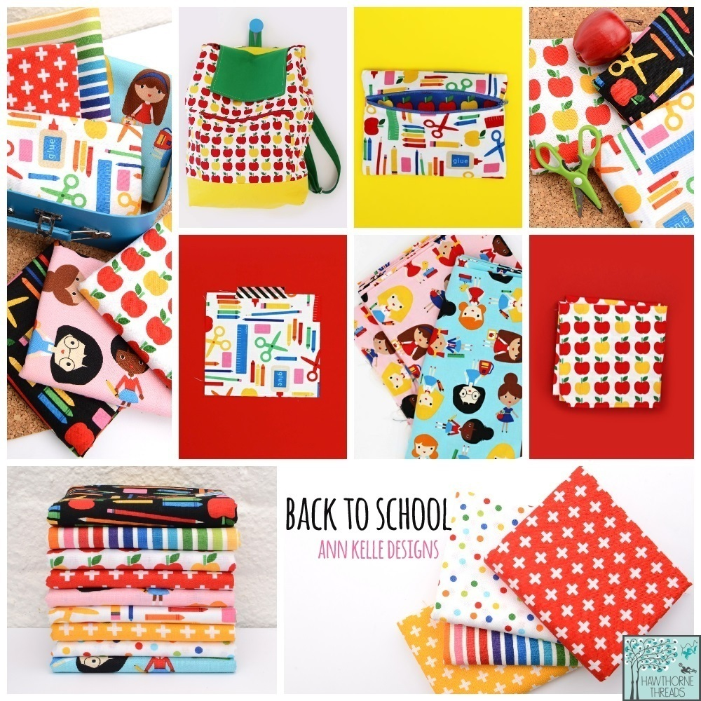 Back to School Fabric Poster