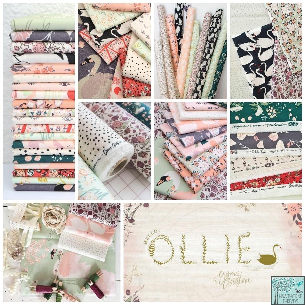 Hello Ollie Organic Fabric Poster