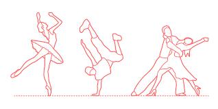 Dance drawing