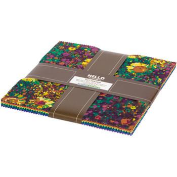 10 inch squares