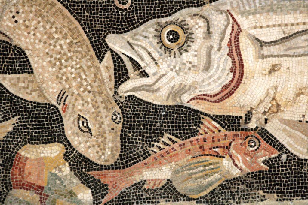 pompeii-mosaic-fish