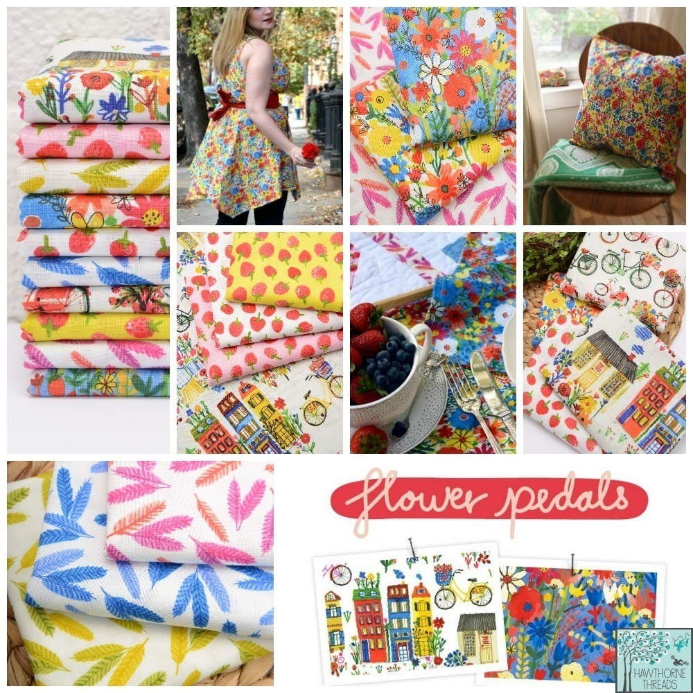 Flower Pedals Fabric Poster 2