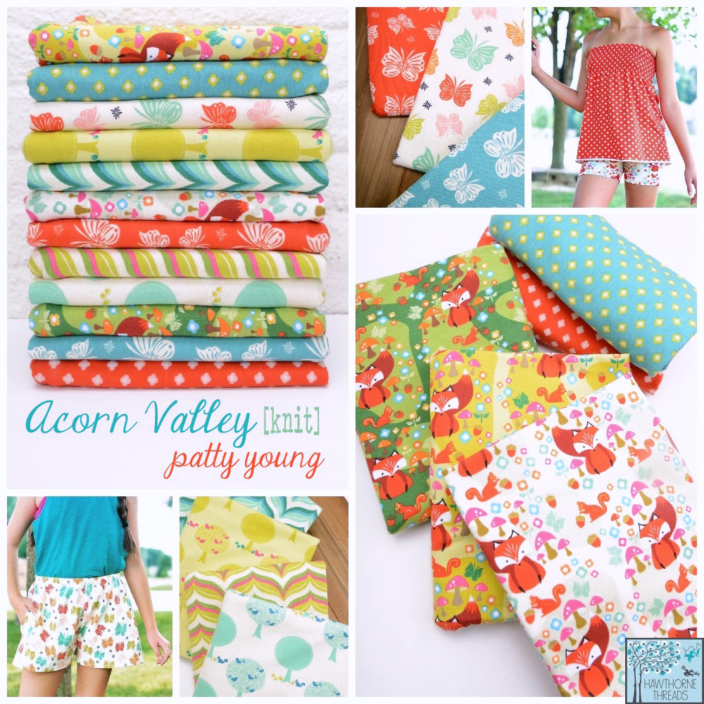 Acorn Valley Fabric Poster
