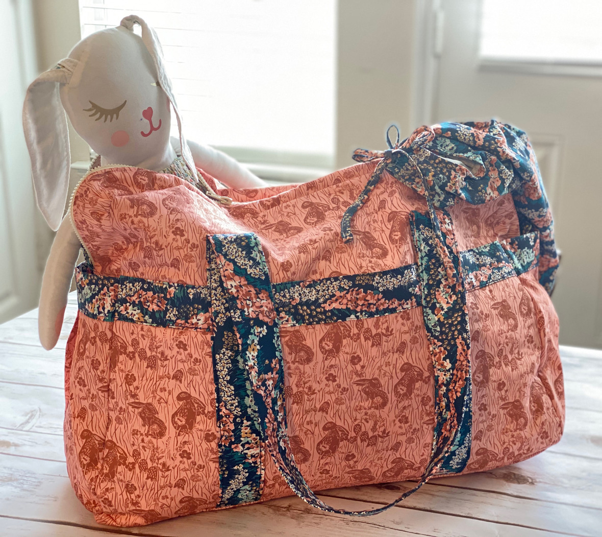 Briar Rose Wren Bag Violette Field Threads and Hawthorne Supply Co