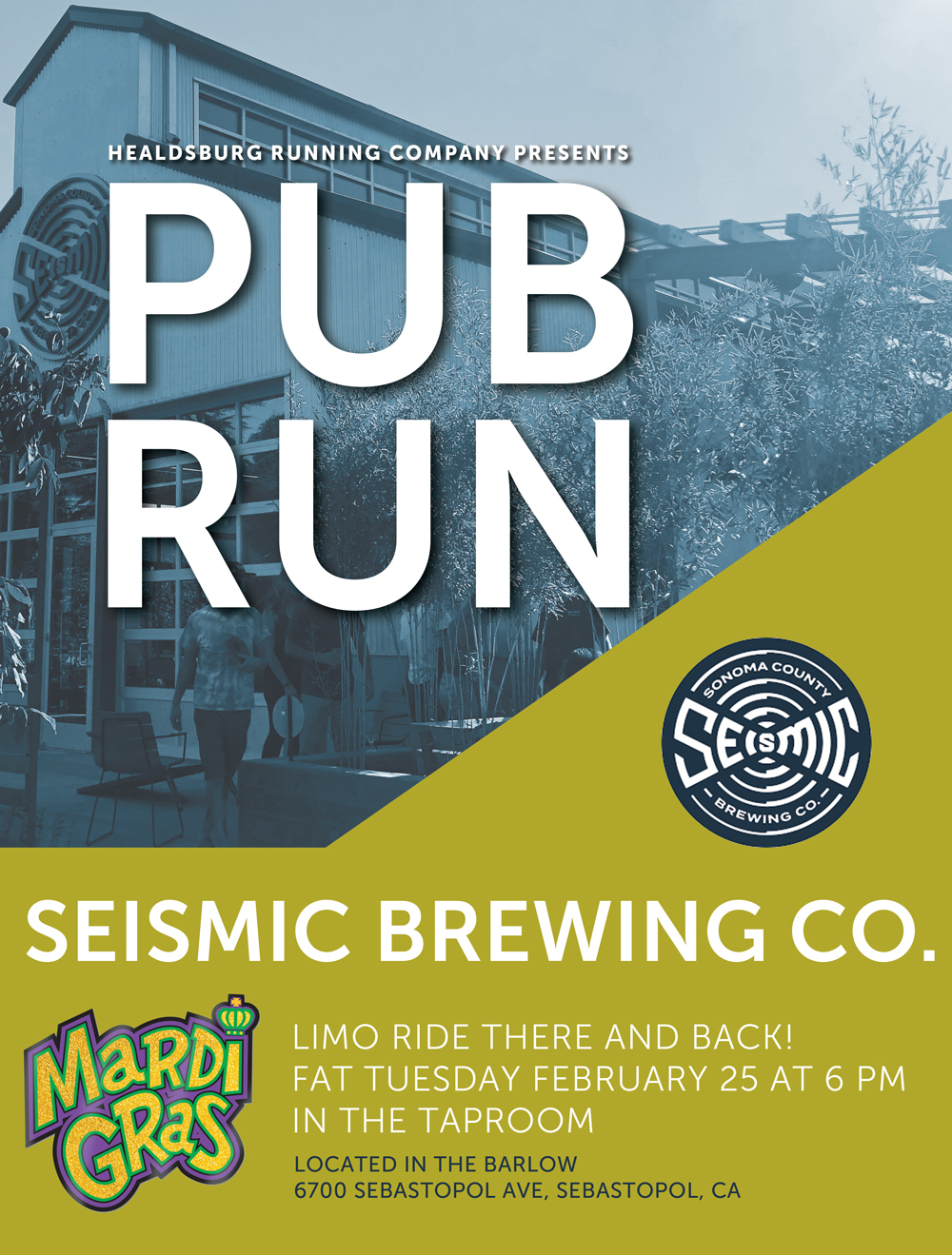 seismic pub run