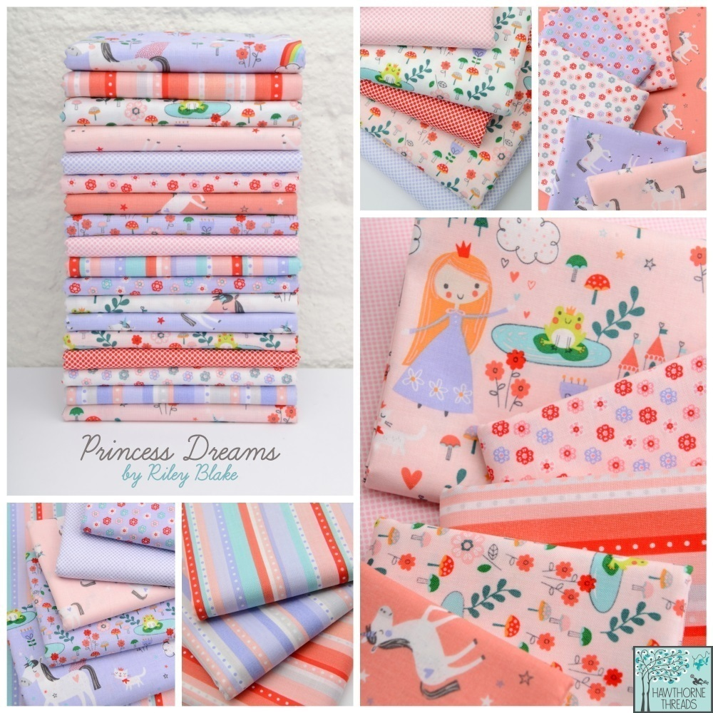 Princess Dreams Fabric Poster