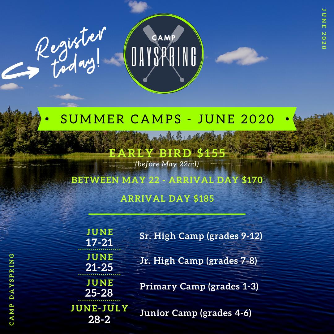 Instagram - 2020 Camp DaySpring