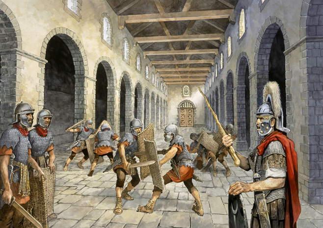 entrenamiento legiones