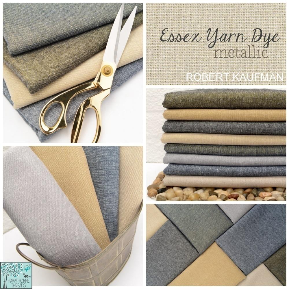 Essex Yarn Dye Metallic Fabric