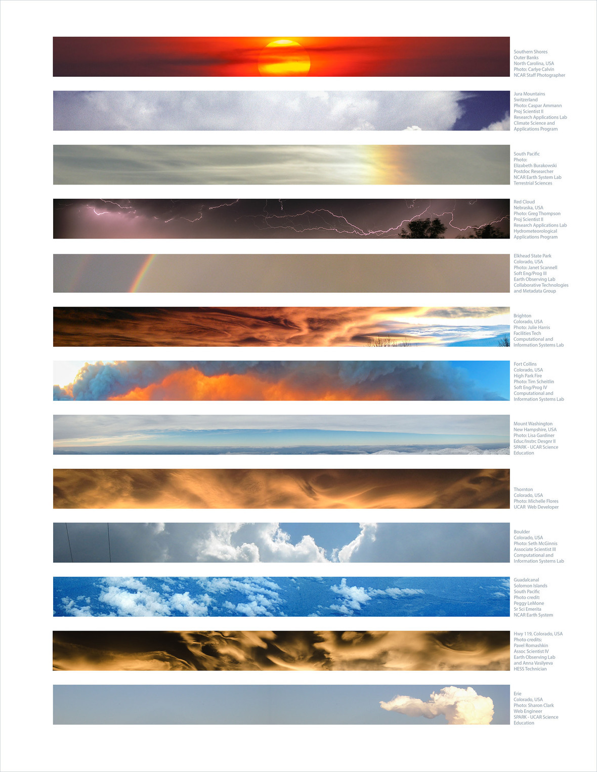 shared skies print NCAR email