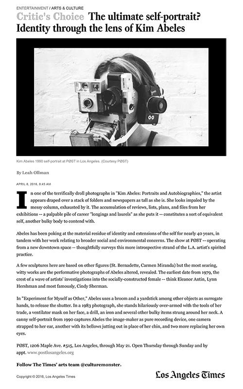 LA Times Leah Ollman 2016pic