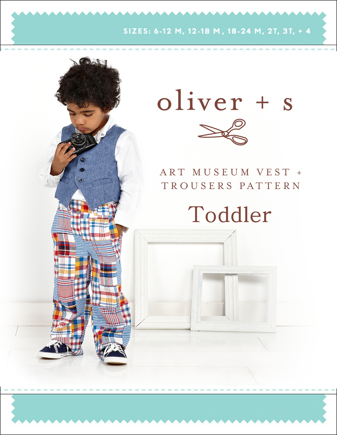oliver and s  toddler art museum vest and trousers sewing pattern
