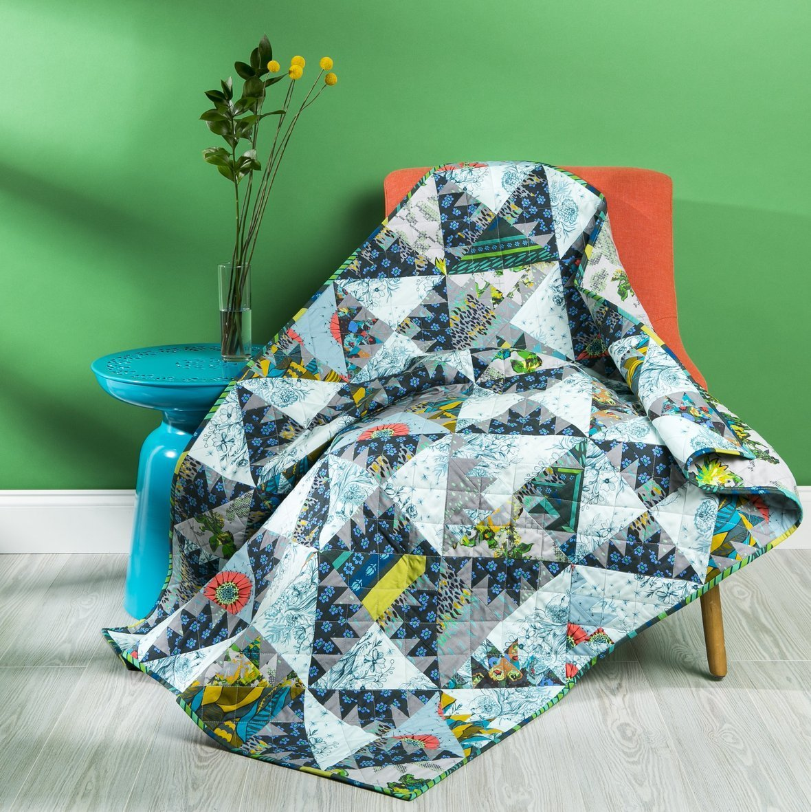 anna maria horner prickle pear quilt kit sewing pattern