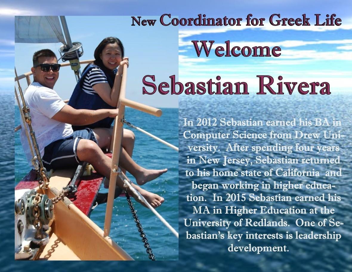 Sebastian s Welcome