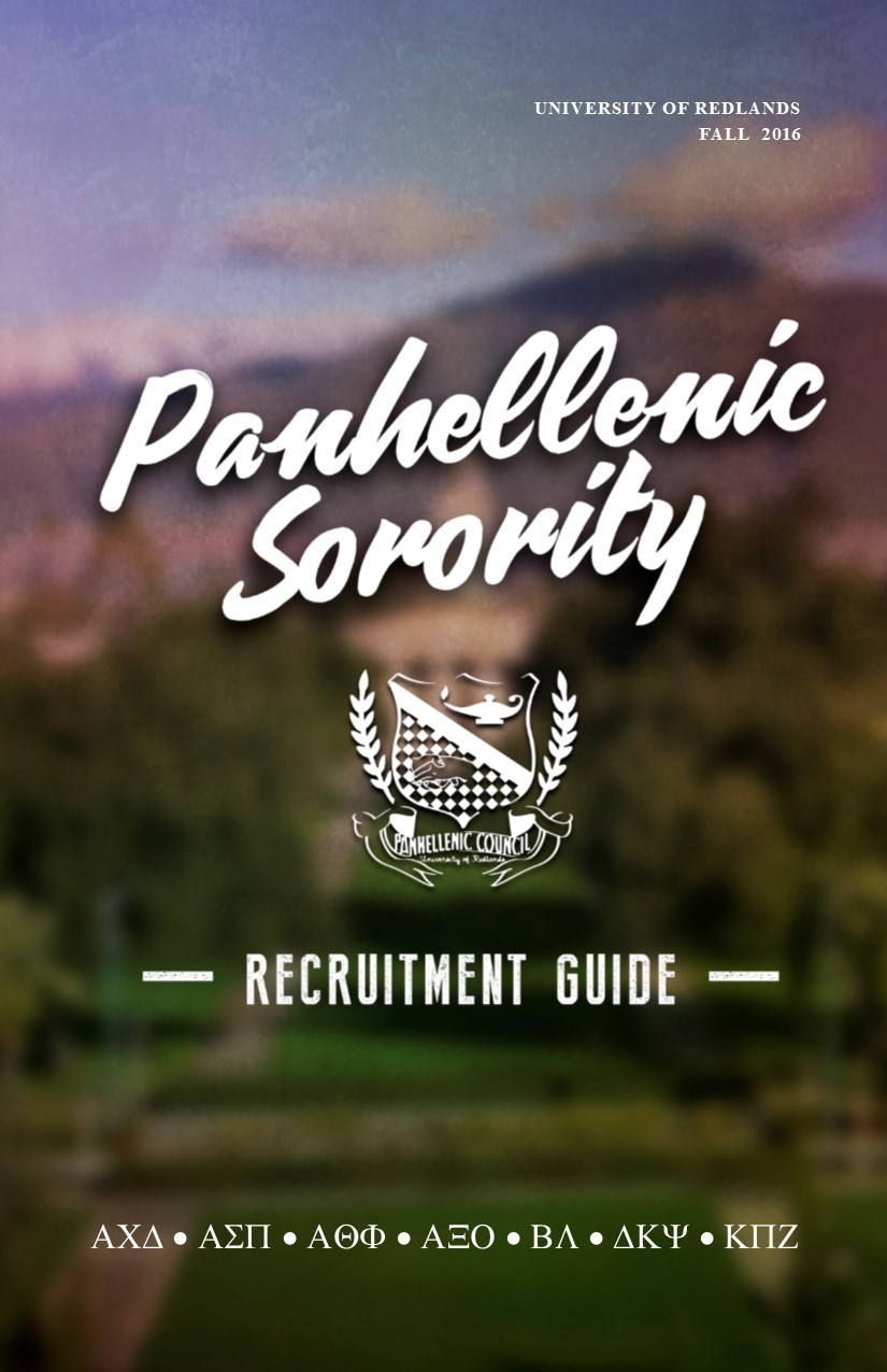 Sorority Rush Guide FA2016