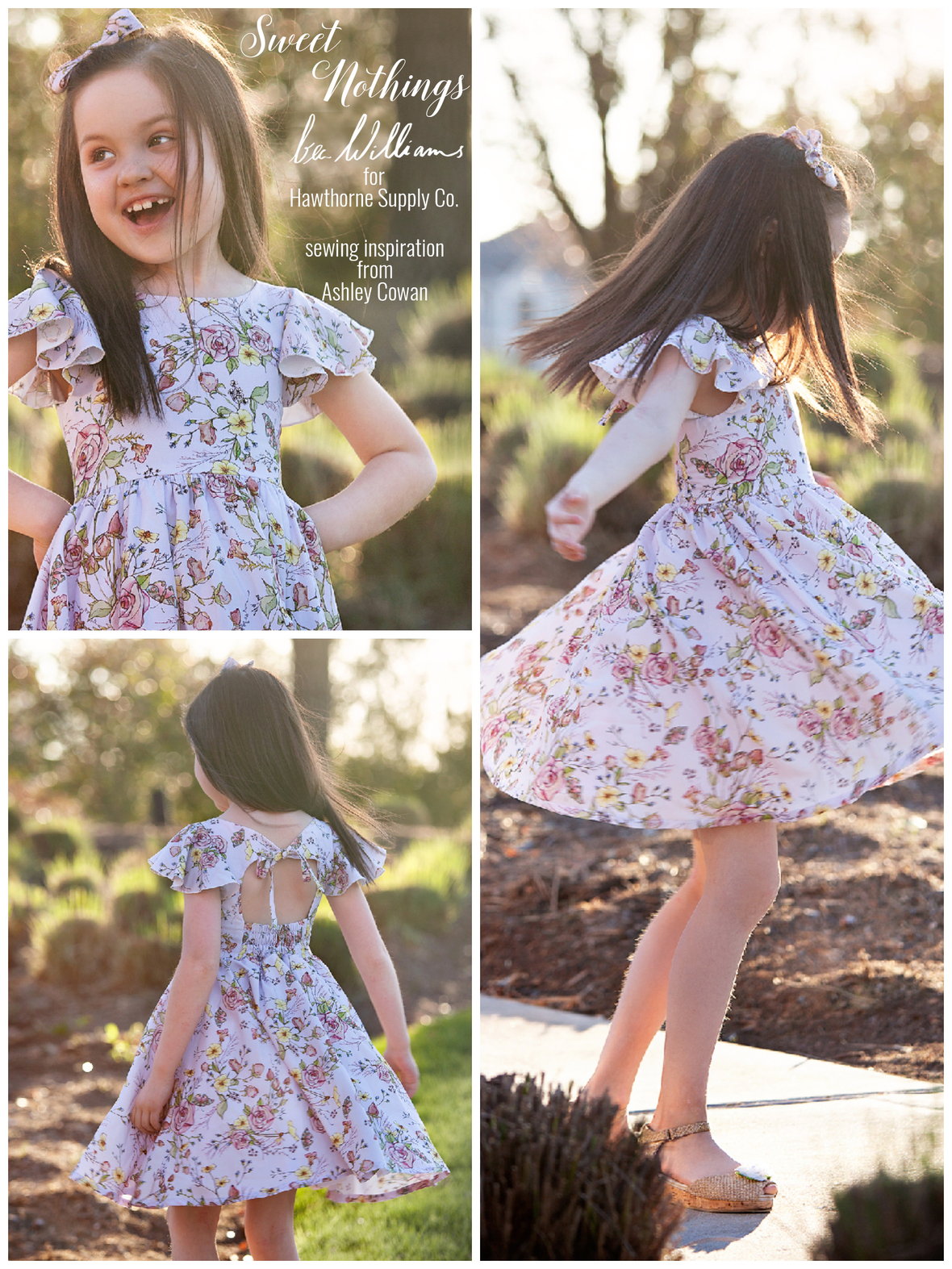 Bec Williams and Hawthorne Supply Co Sweet Nothings Dress by Ashley Cowan