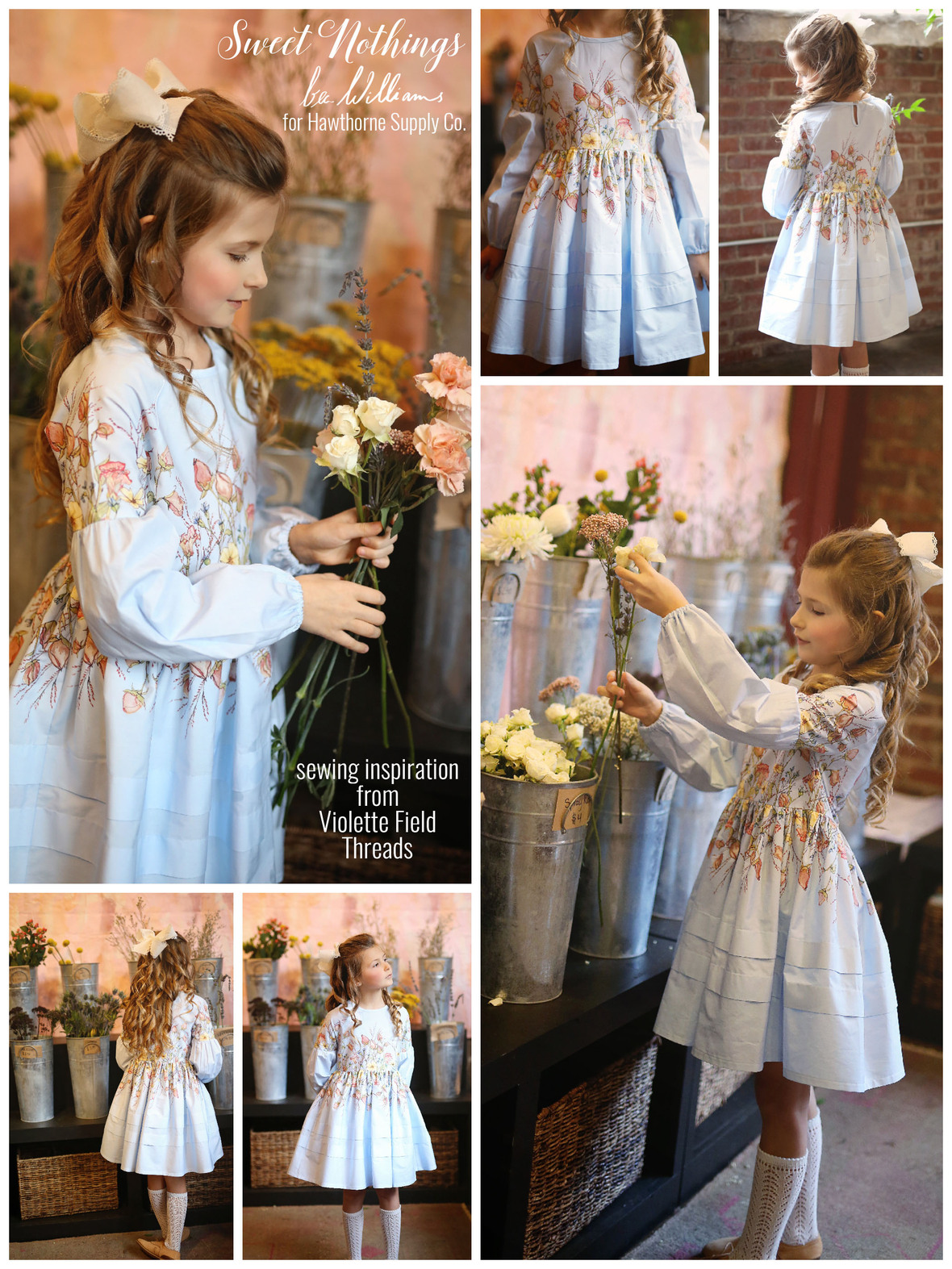 Sweet Nothings Dress from Violette Field Threads 2