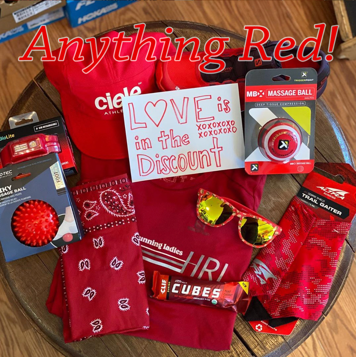 anything red