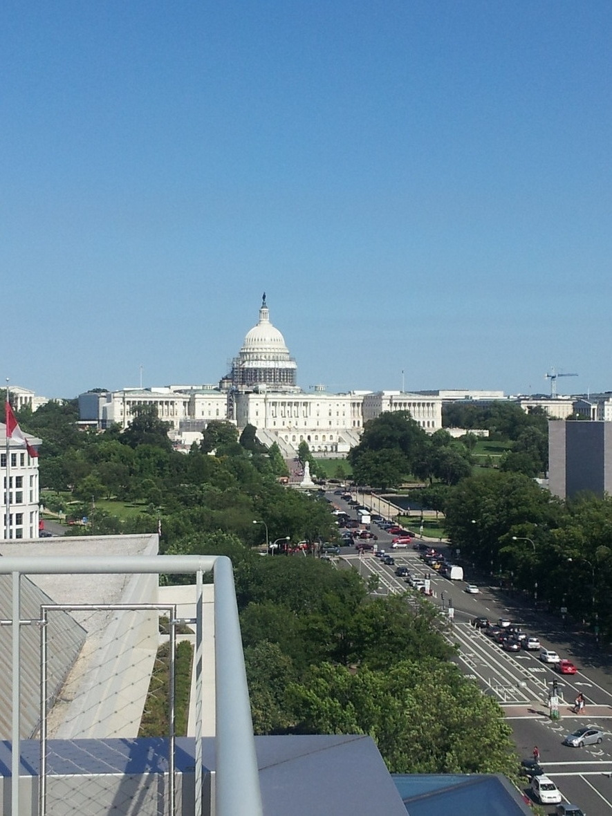 Capitol on a summers day