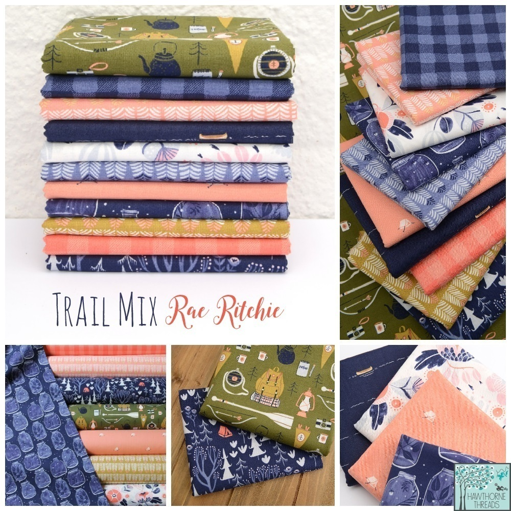 Trail Mix Fabric Poster
