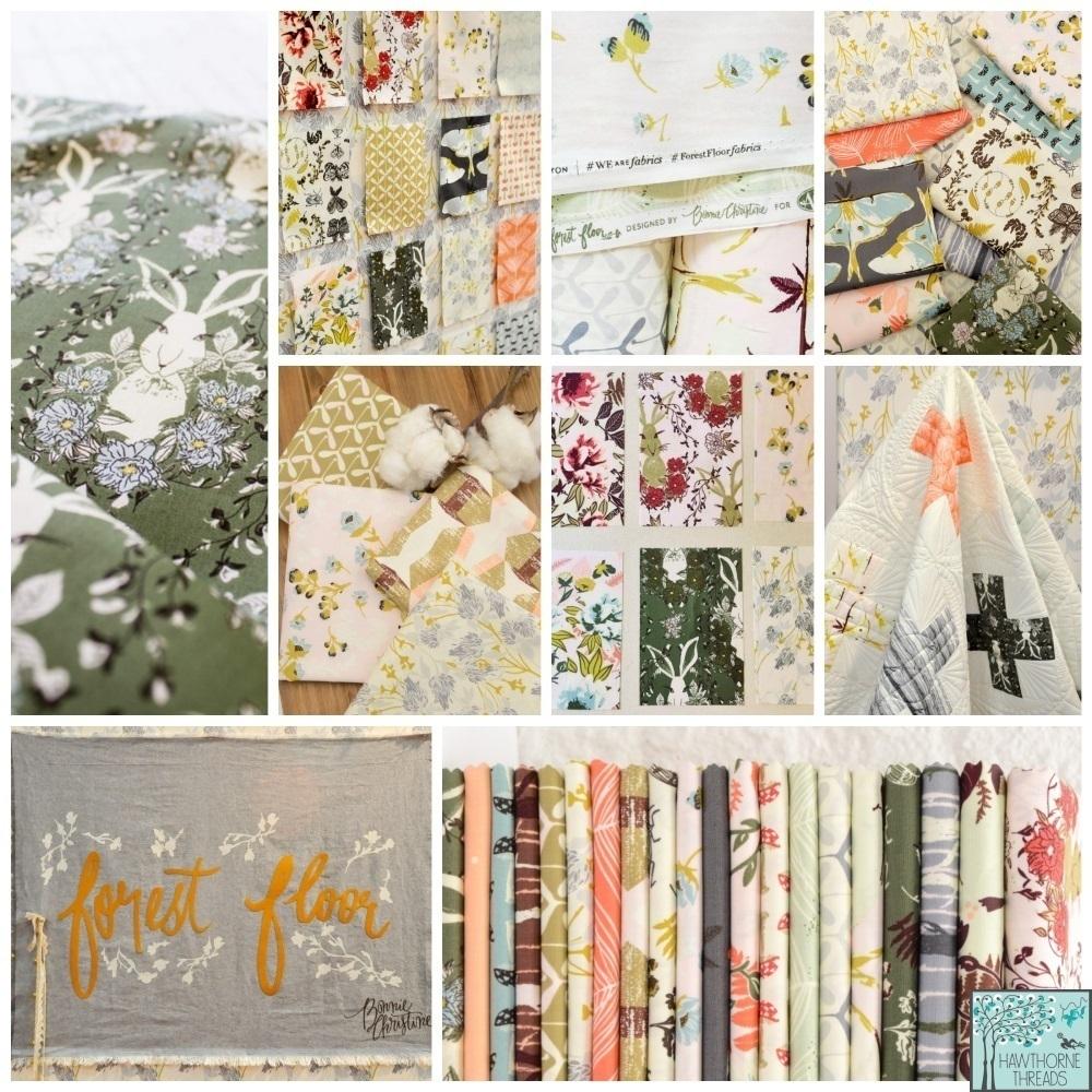 Forest Floor Fabric Bonnie Christine