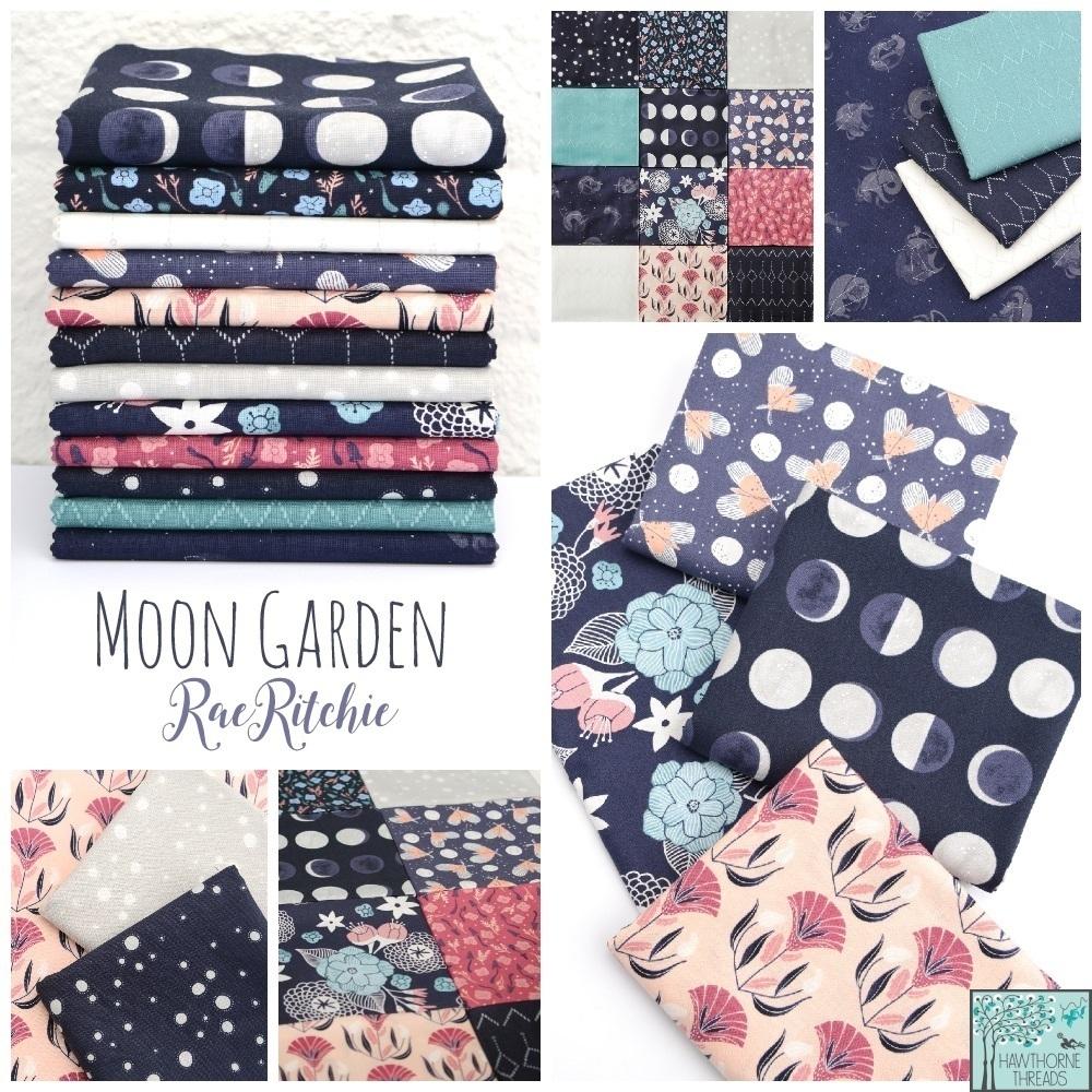 Moon Garden Fabric Poster