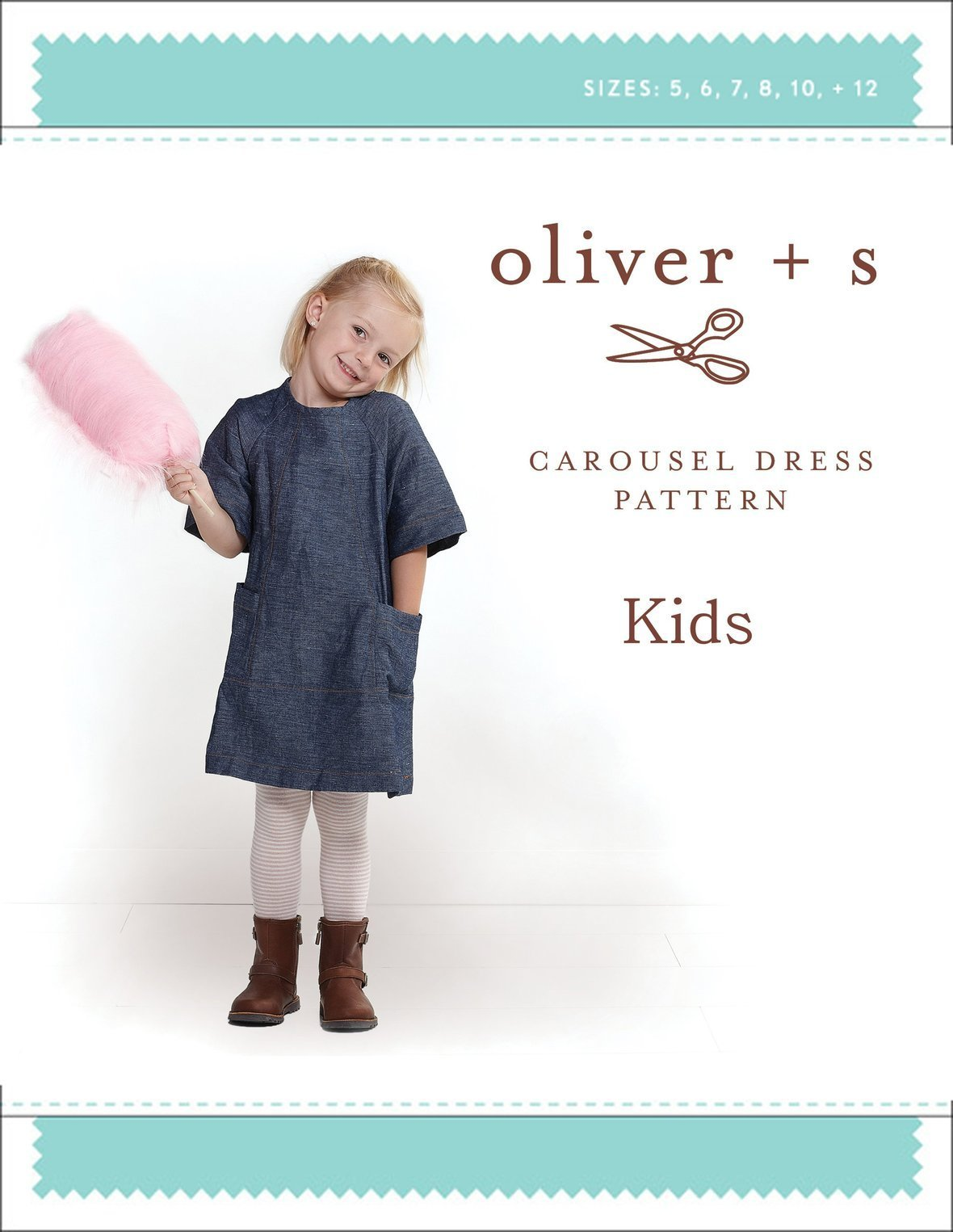 oliver and s  kids carousel dress sewing pattern
