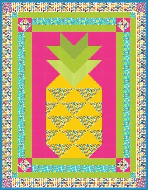 Little Seoritas Pineapple Party RK Pattern