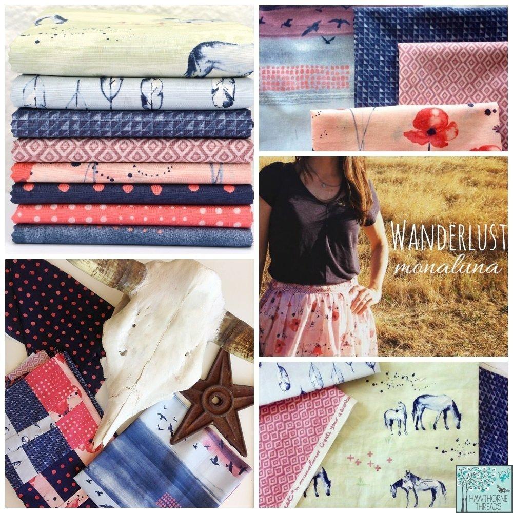 Wanderlust Fabric
