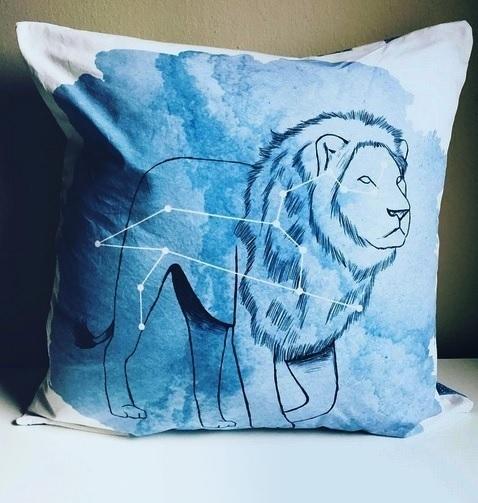 Leo Celestial Pillow