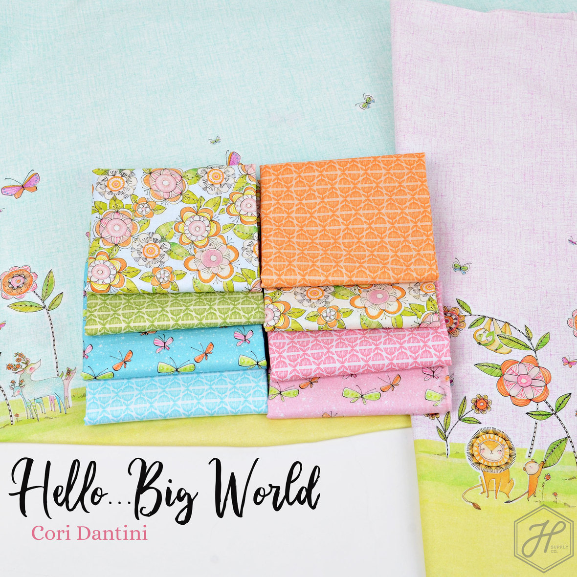Hello-Big-World-Fabric-Cori-Dantini-for-Hawthorne-Supply-Co