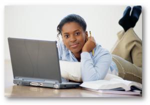 african american girl computer-300x210