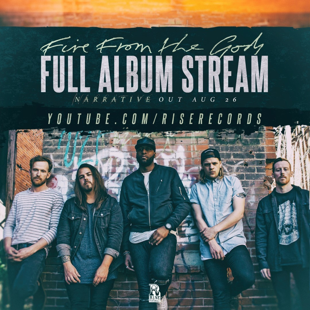 fire from the gods album stream