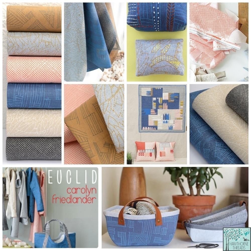 Euclid Essex Fabric Poster