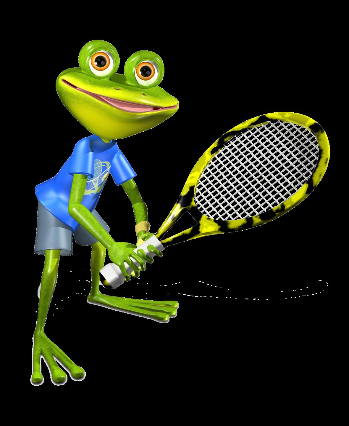 frog tennis No BACK