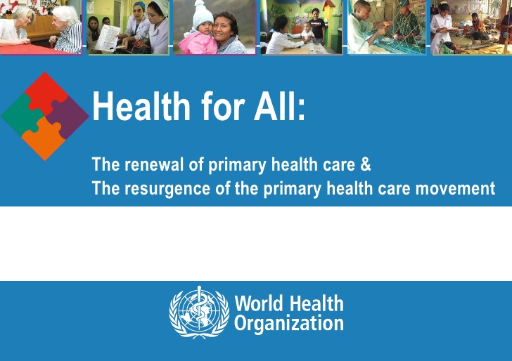 Health for All WHO