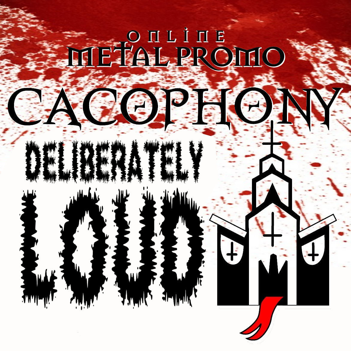 OMP-Cacophony compilation cover artwork  September 2016