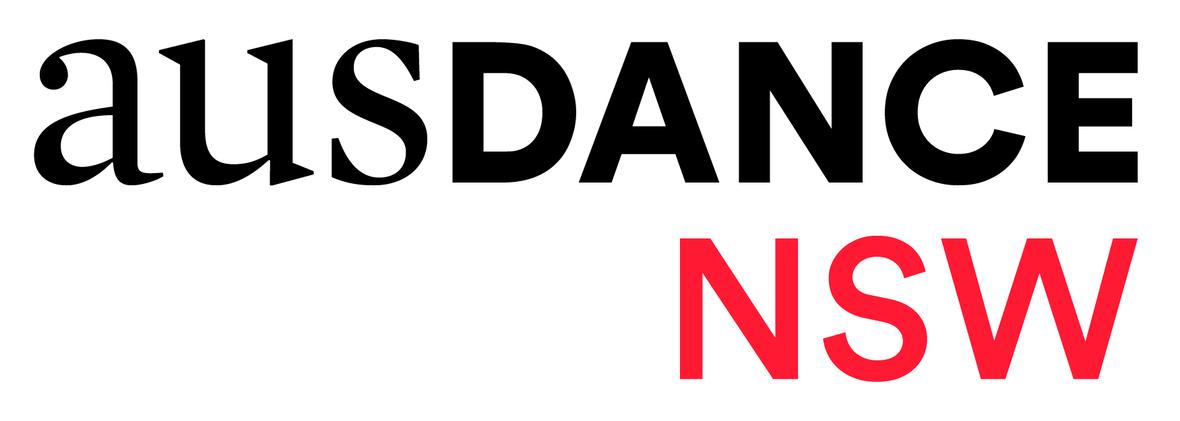 Ausdance NSW Logo CMYK Black