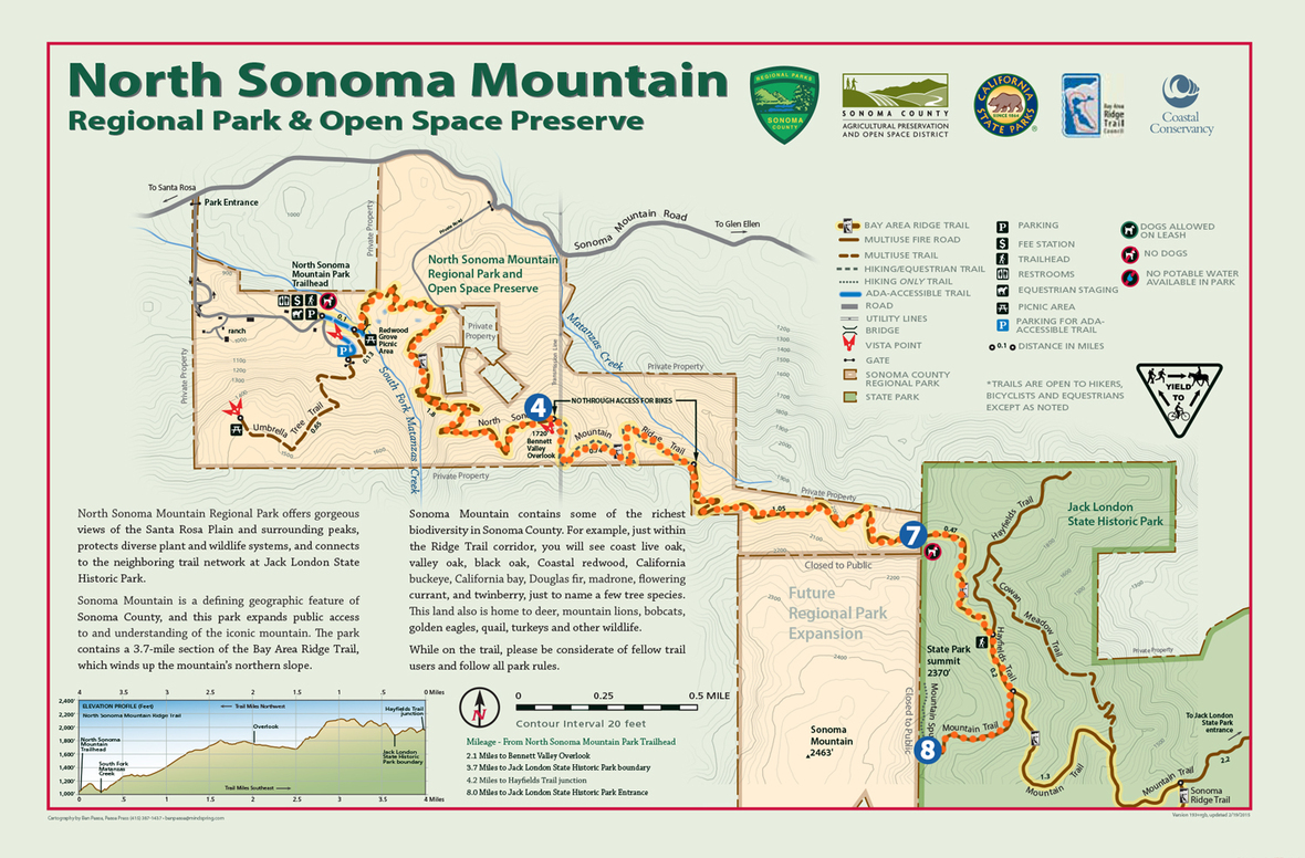 north-sonoma-mountain-park-map