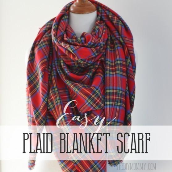 Easy-Plaid-Blanket-Scarf-Tutorial-557x557