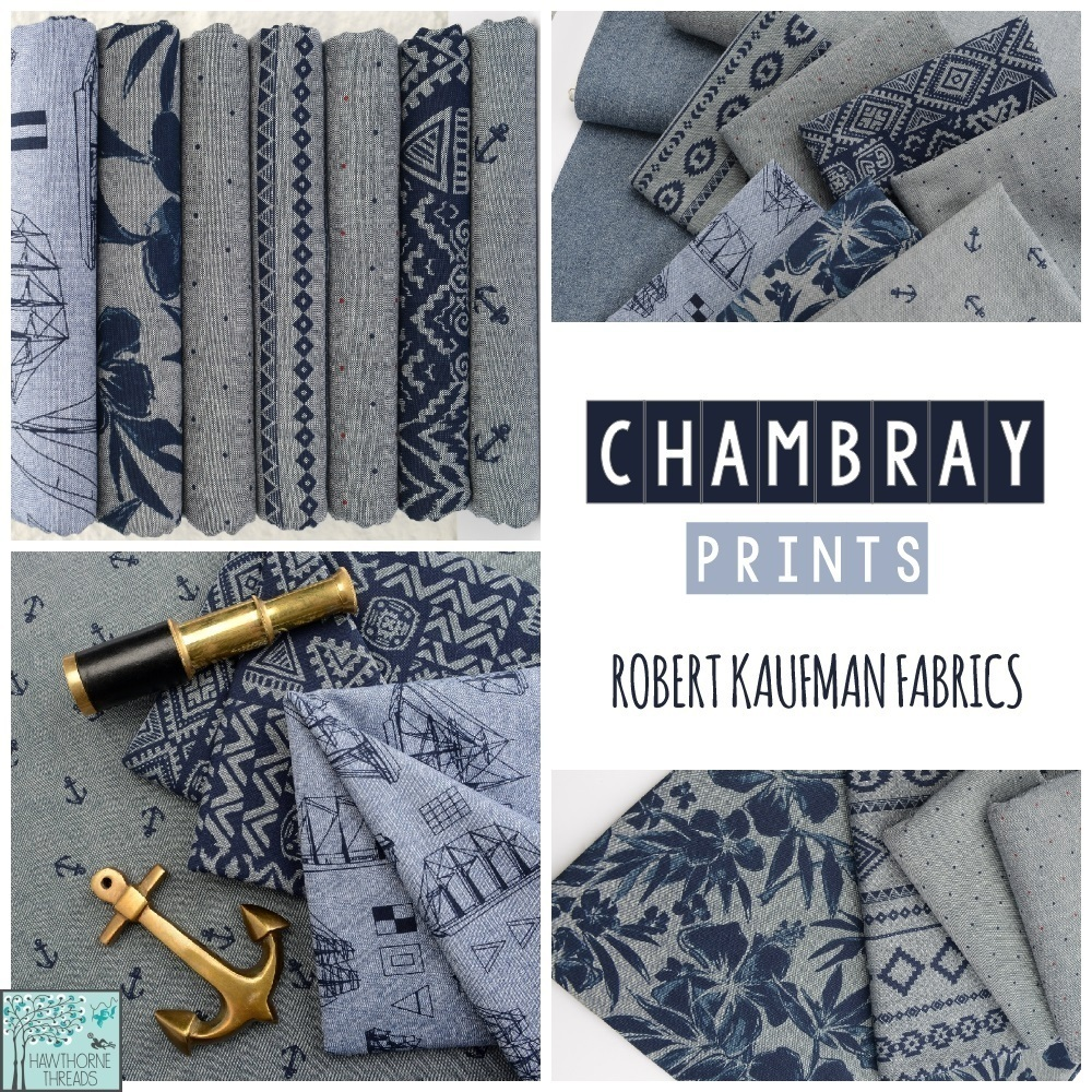 Chambray Fabric Prints Robert Kaufman