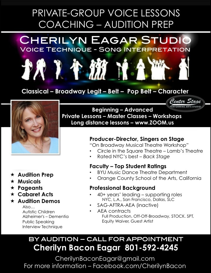 Auditions Announced for Music-Performance Master Classes at Center