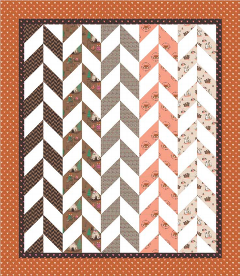 Herringbone Quilt  CC Free Projects