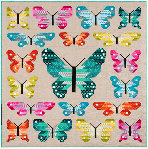 LepidopteraPatternQuilt