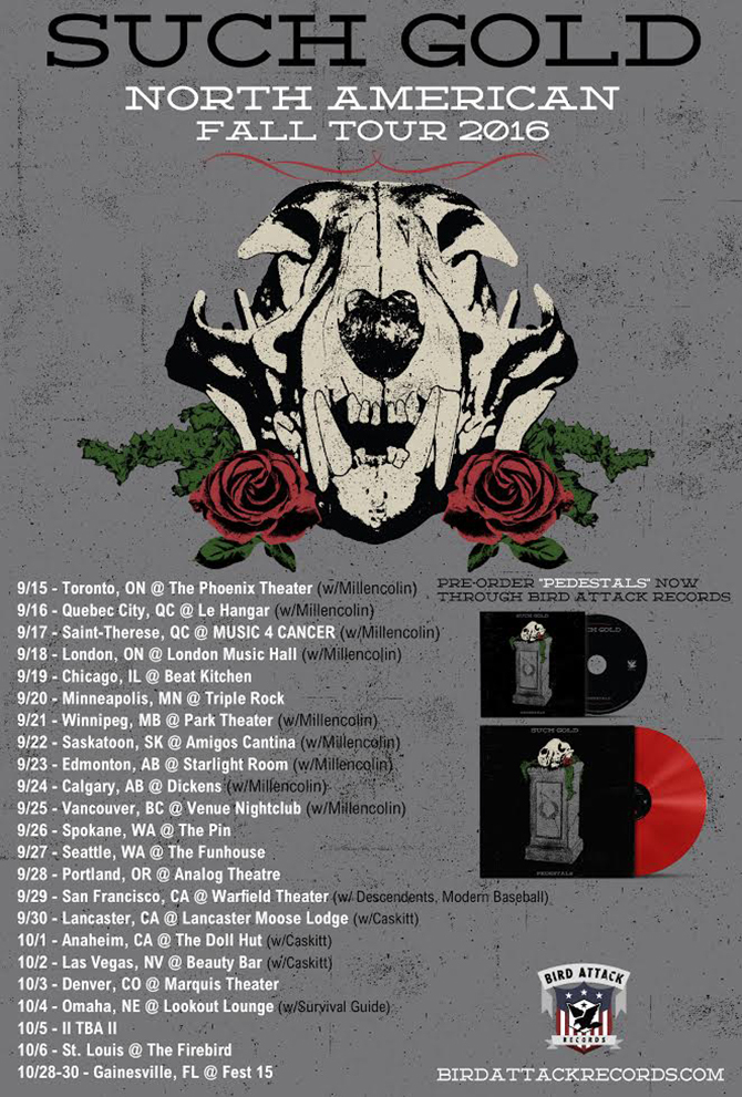 Such Gold North American Tour 2016