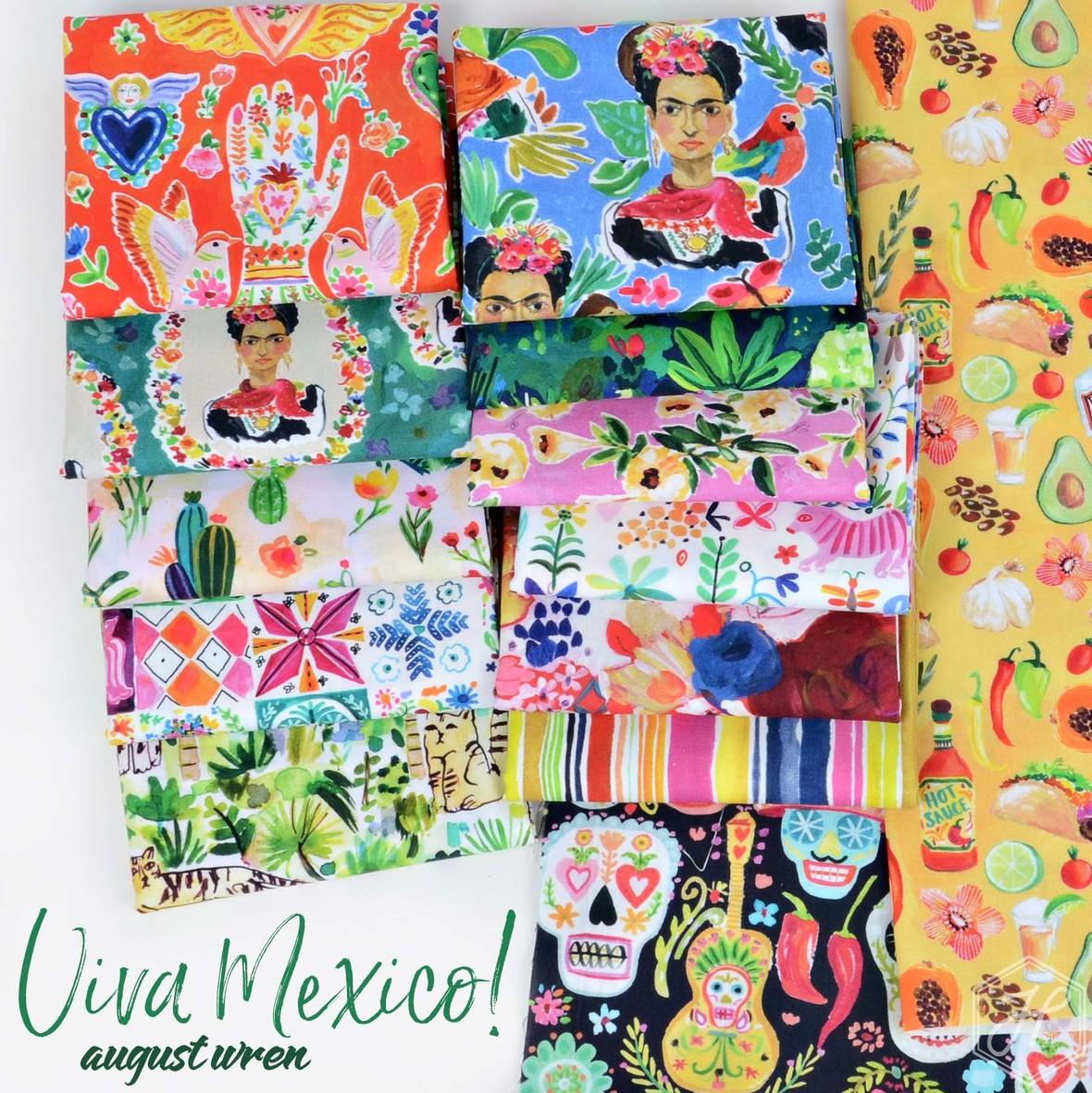Viva Mexico August Wren for Dear Stella at Hawthorne Supply Co.