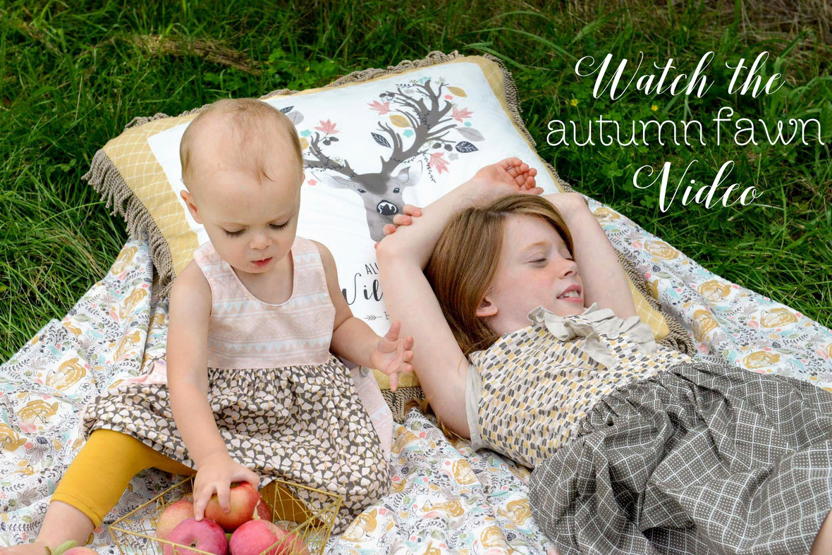 Autumn Fawn Fabric Inspiration Video
