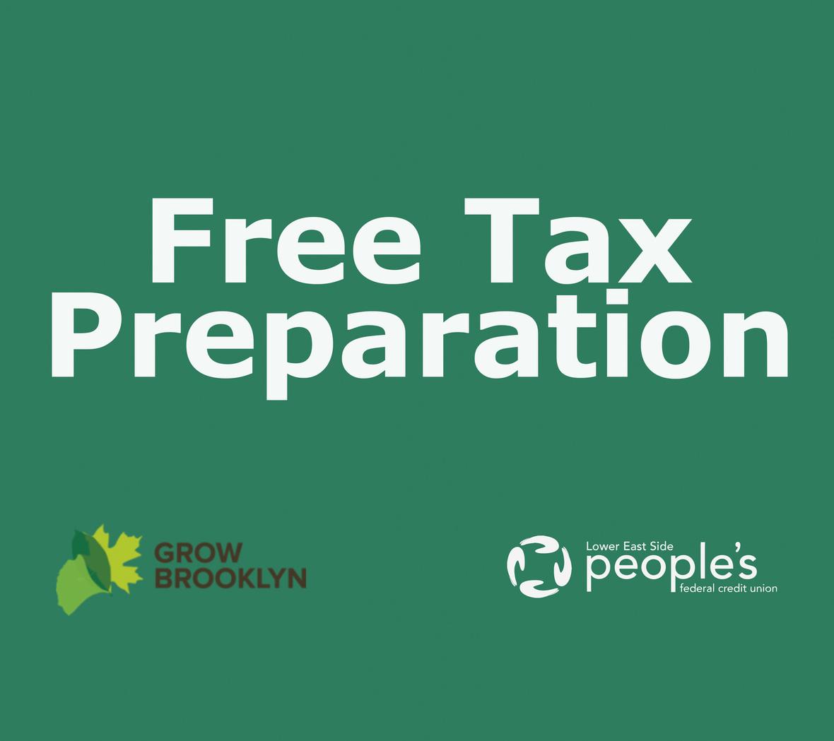 2020 Free Tax Preparation