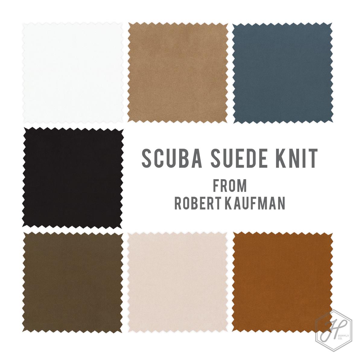 Scuba Suede Knit