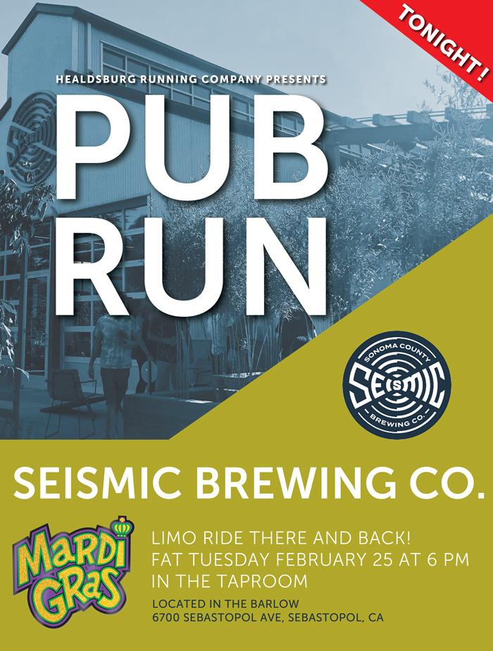 seismic pub run